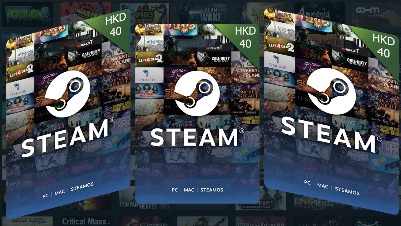 Steam Wallet HKD 40