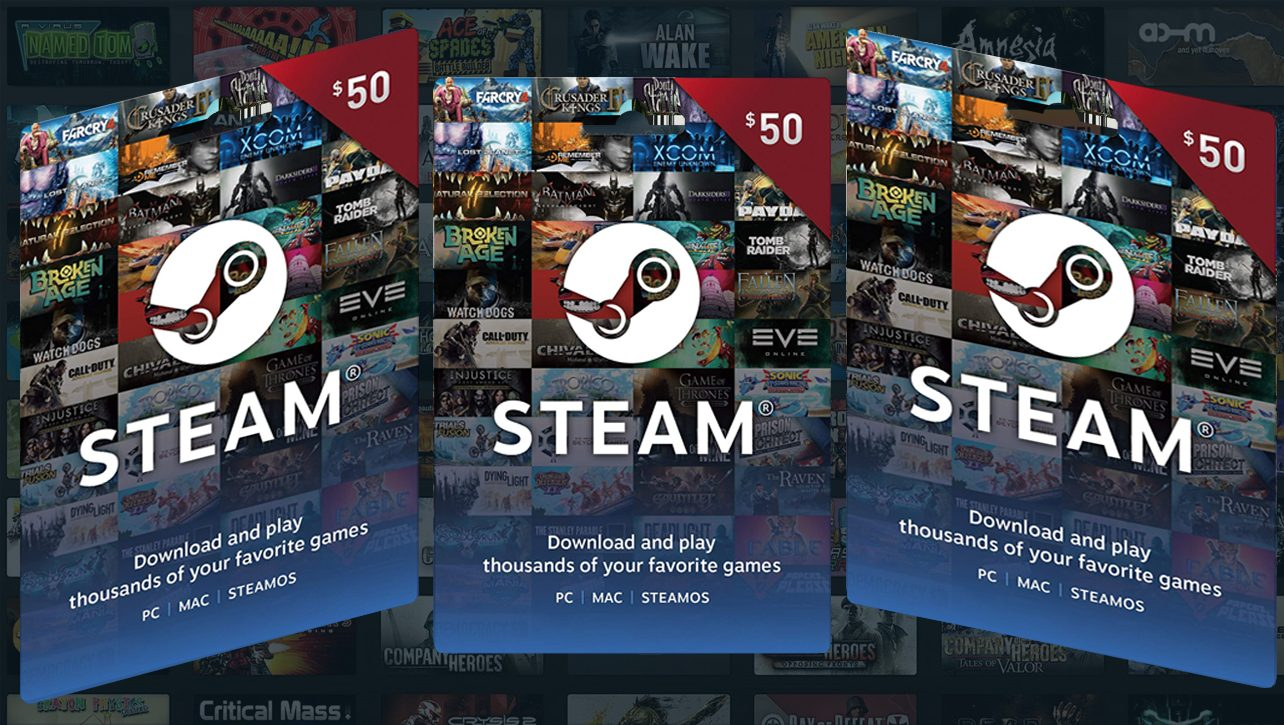 Steam Wallet USD 50